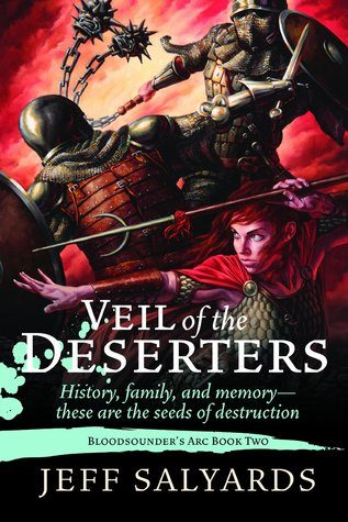 Review: Jeff Salyards, 'Veil of the Deserters'