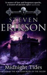 Midnight Tides by Steven Erikson (cover)