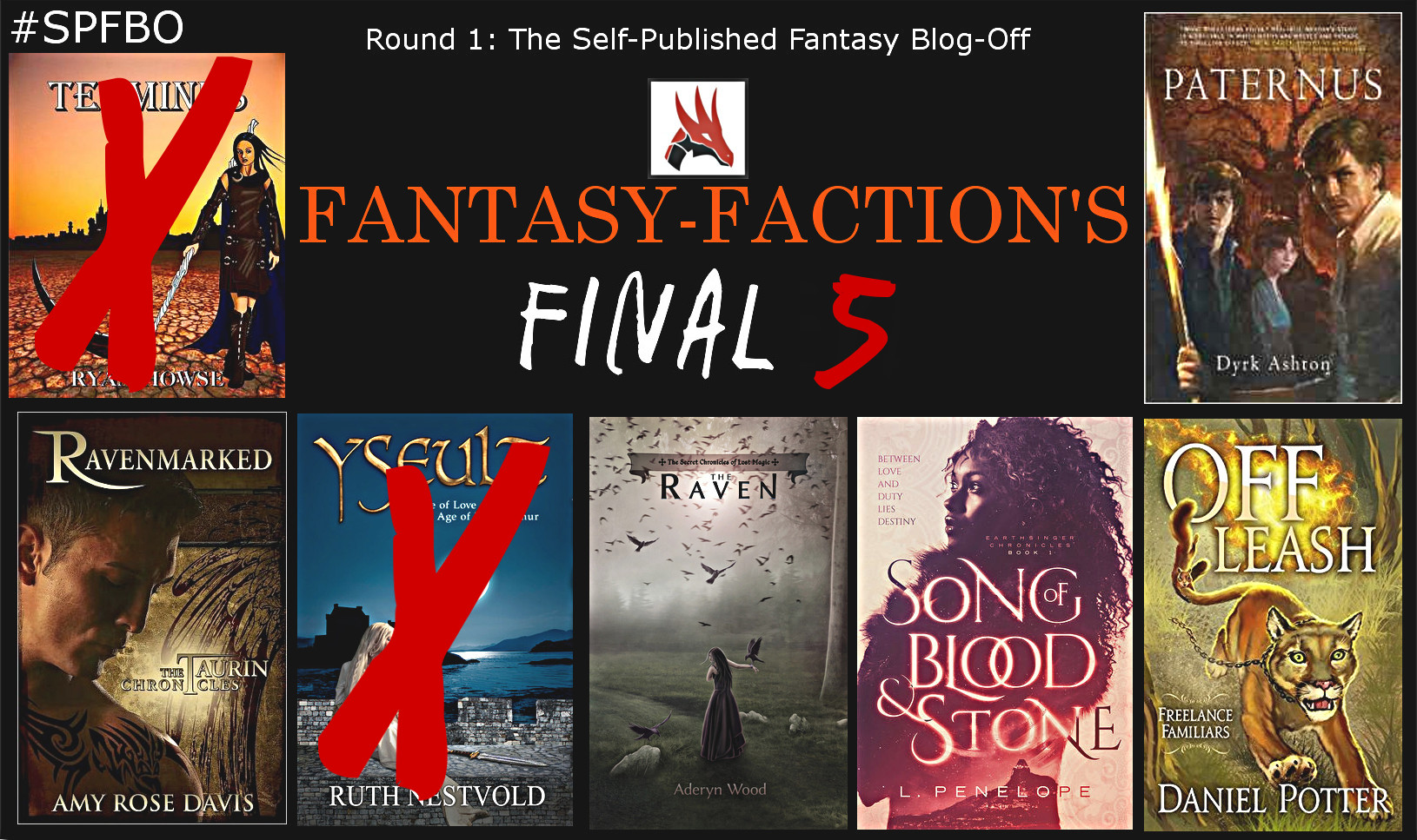 SPFBO - Fantasy-Faction's Final Five