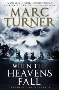 'When the Heavens Fall' by Marc Turner (cover image)