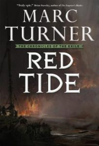 Red Tide (US cover) by Marc Turner