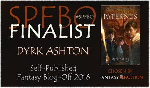Fantasy-Faction's SPFBO2 Finalist: Dyrk Ashton, Paternus