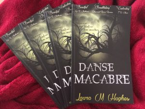 Danse Macabre (paperback covers) by Laura M Hughes