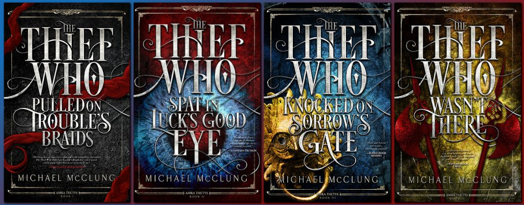 Ragnarok Covers: The Amra Thetys series by Michael McClung
