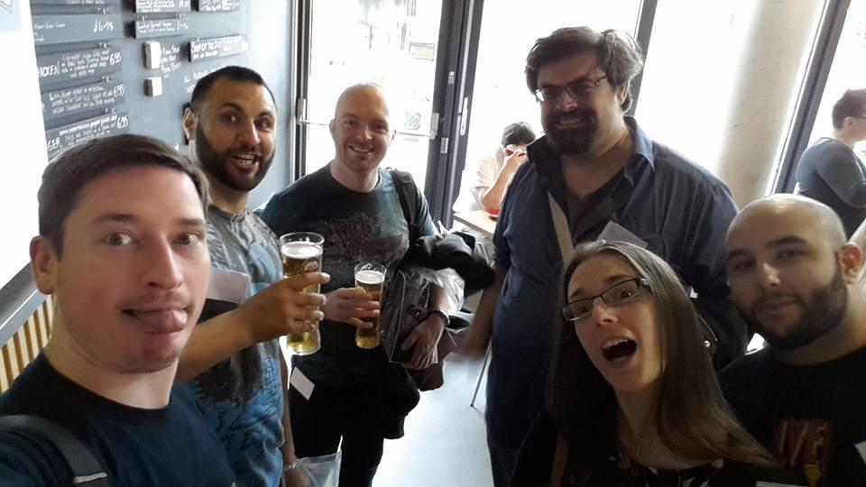 Edge Lit (Derby, July 2017) - J.P Ashman, Kareem Mahfouz, Michael Everest, Adrian Tchaikovsky, Laura M Hughes, Sadir Samir