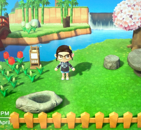 April Update – Self-Isolation (aka Me, Myself and Animal Crossing)